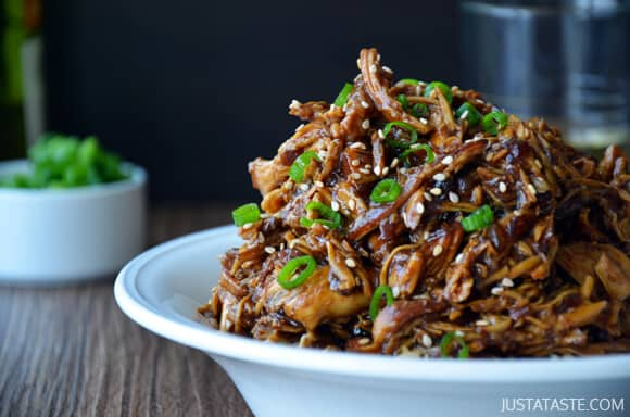 Slow Cooker Honey Garlic Chicken Recipe