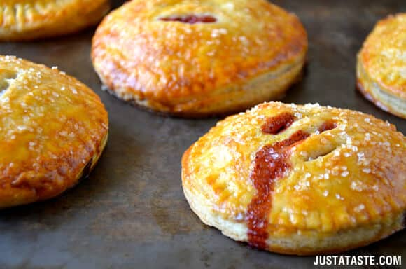 Strawberry Nutella Hand Pies Recipe