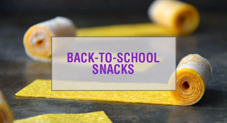 School Snack Recipes for Kids