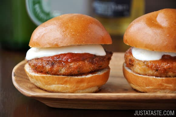 Eggplant Parmesan Sliders Recipe