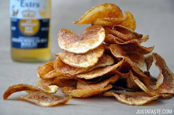 Homemade Barbecue Potato Chips Recipe