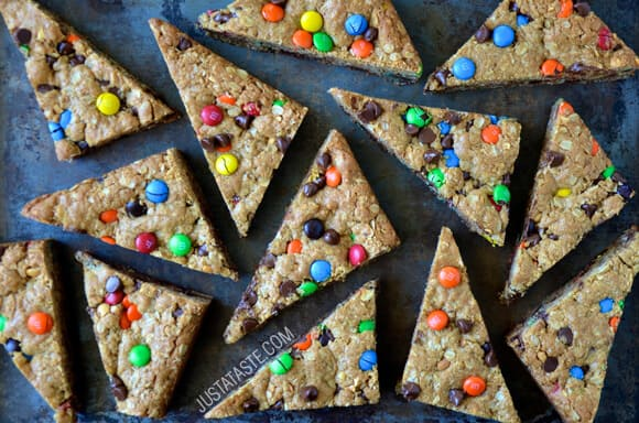Monster Cookie Bars #recipe