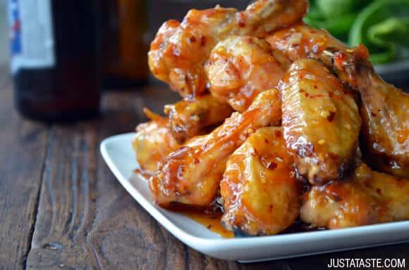 Crispy Baked Orange Chicken Wings Recipe