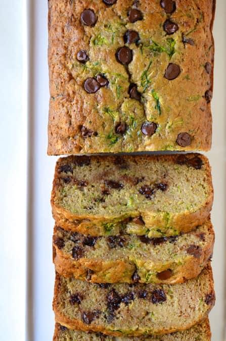 Chocolate Chip Zucchini Bread Recipe