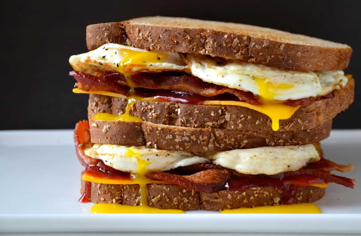 The Ultimate Egg Sandwich Just A Taste
