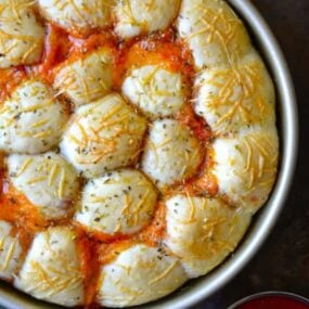 Cheese and Pepperoni Pizza Bites Recipe