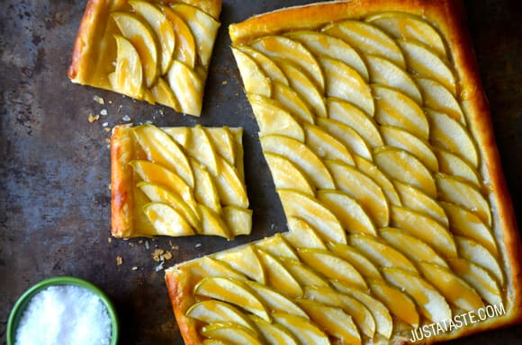 Easy Salted Caramel Apple Tart Recipe