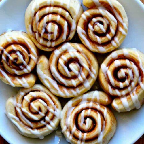 Pizza dough cinnamon rolls just a taste forumfinder Gallery