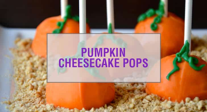 Pumpkin Cheesecake Pops Recipe