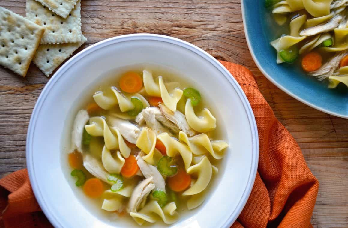 MONDAY: Slow Cooker Chicken Noodle Soup