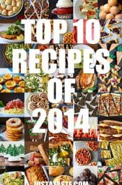 The 10 Top Recipes of 2014 on justataste.com