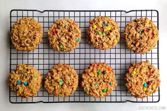 Monster Cookies recipe on justataste.com