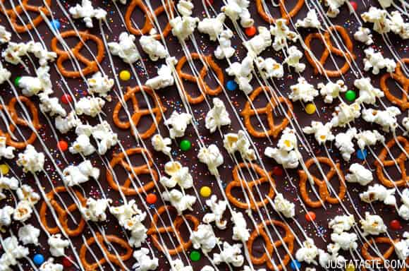 Smoked Salt Pretzel And Potato Chip Chocolate Bark Recipe ...