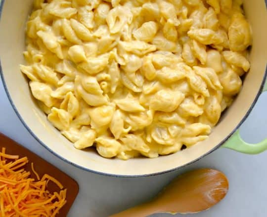 Easy Stovetop Macaroni and Cheese recipe from justataste.com