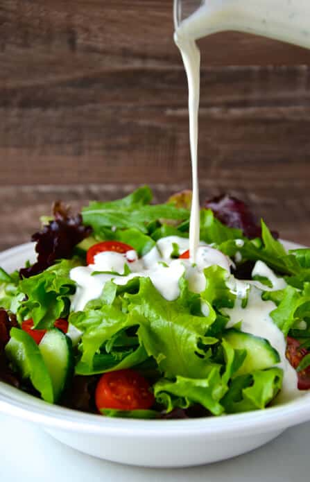 Homemade Buttermilk Ranch Dressing Recipe on justataste.com