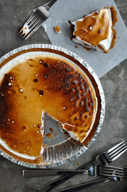 S'more Pie Recipe on justataste.com