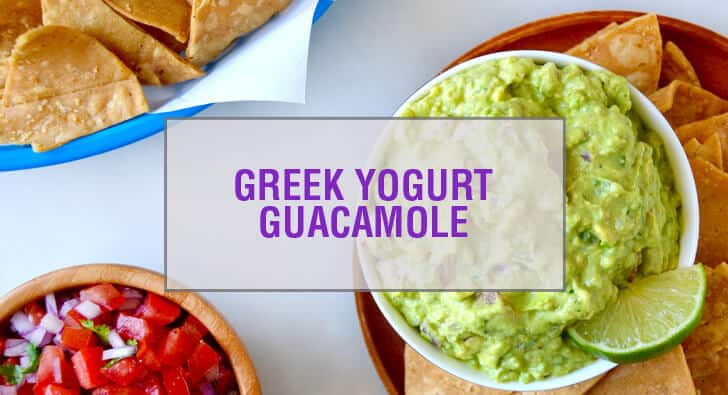 Creamy Greek Yogurt Guacamole Recipe
