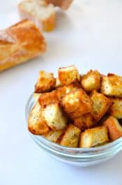 Video: Easy Homemade Croutons Recipe on justataste.com