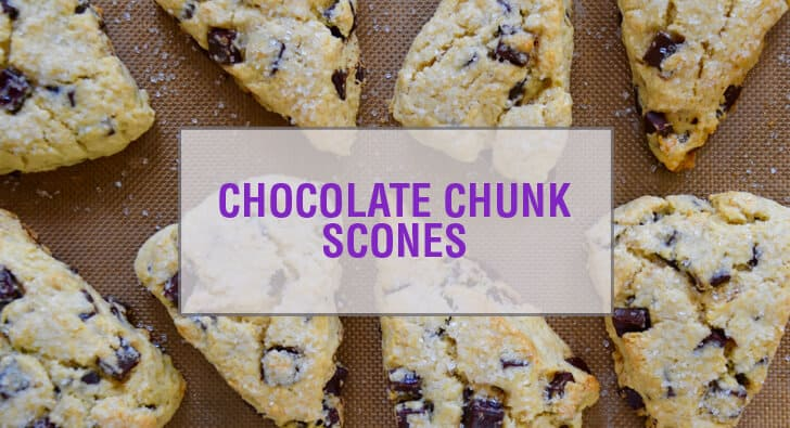 Chocolate Chunk Scones Recipe