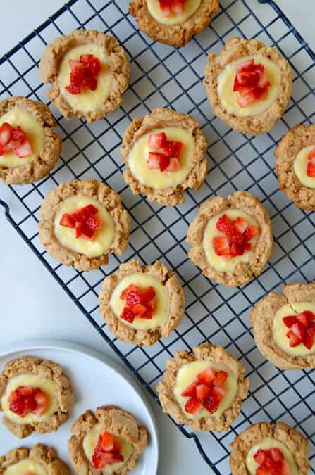 Strawberry Cheesecake Cookies #recipe on justataste.com
