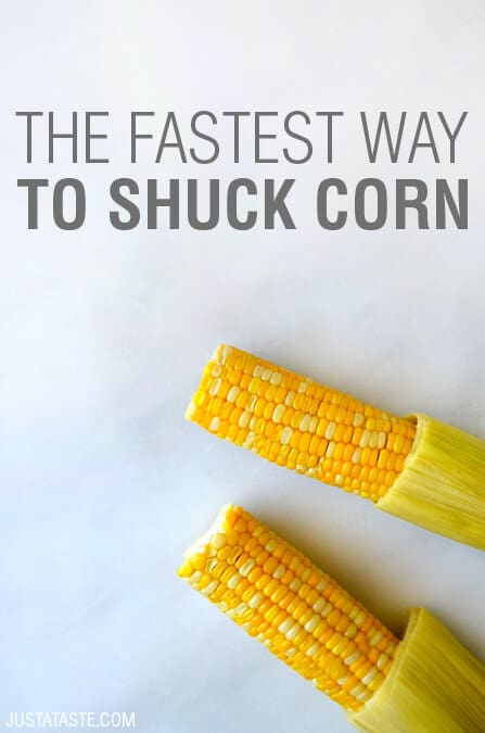 Video: The Fastest Way to Shuck Corn