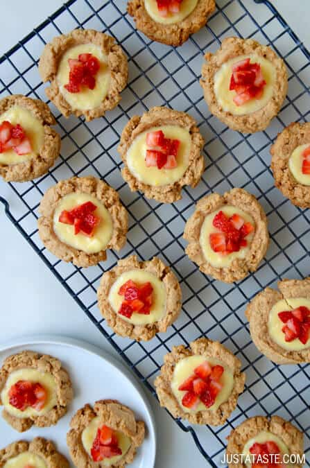 Strawberry Cheesecake Cookies #recipe on justataste.com