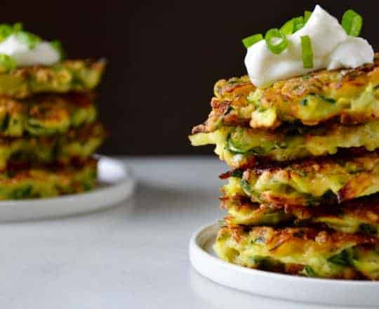 5-Ingredient Zucchini Fritters Recipe