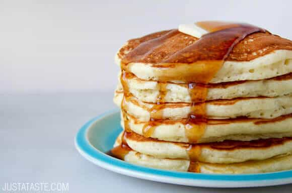 Pin It Light And Fluffy Buttermilk Pancakes Recipe