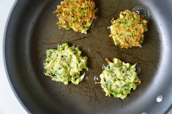 Just a Taste 5-Ingredient Zucchini Fritters