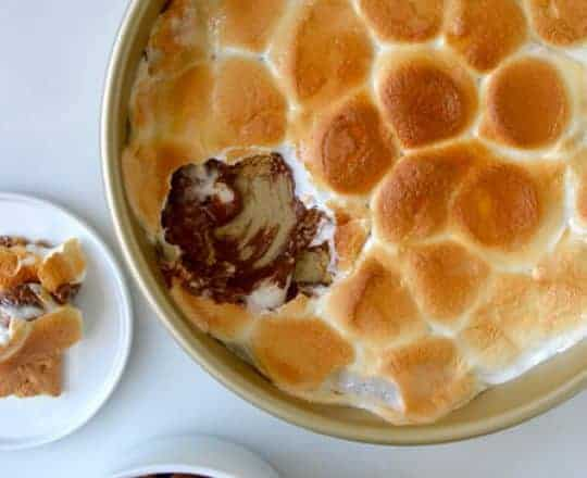 Peanut Butter Cup S'mores Dip recipe on justataste.com