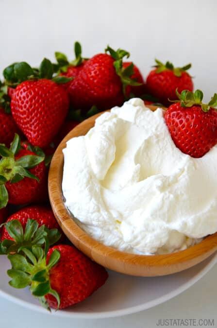 Secret Ingredient Whipped Cream Recipe
