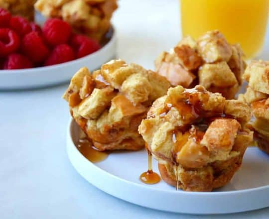 Cinnamon French Toast Muffins Recipe
