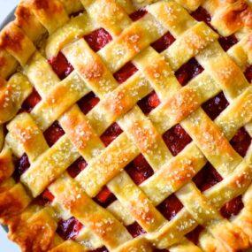 Easy Homemade Pie Crust - Lattice Pie Crust