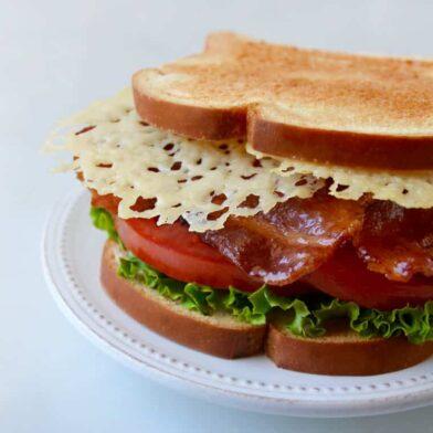 FRIDAY: Parmesan Crisp BLT Sandwich