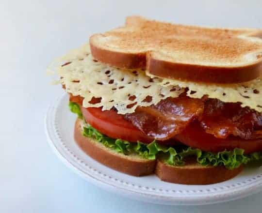 Parmesan Crisp BLT Sandwich Recipe