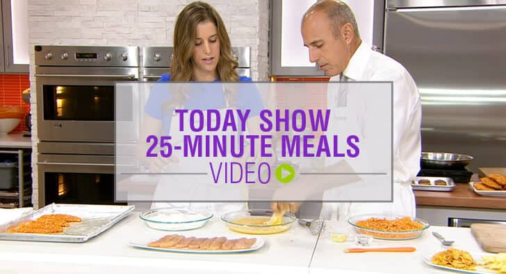 TODAY Show 25-Minute Meals