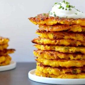 5-Ingredient Butternut Squash Fritters Recipe