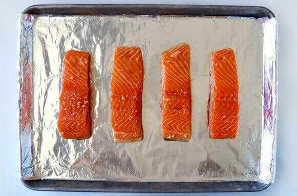 Baked Salmon with Honey-Garlic Glaze Recipe