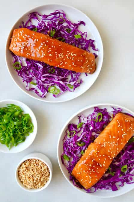 Baked Salmon with Honey-Garlic Glaze Recipe