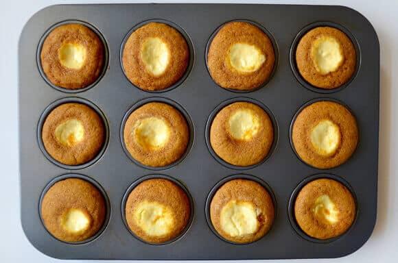 Cream Cheese-Filled Pumpkin Muffins Recipe