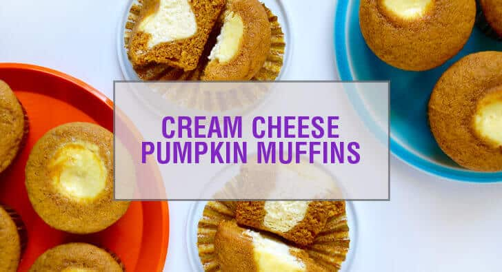 Cream Cheese-Filled Pumpkin Muffins Recipe