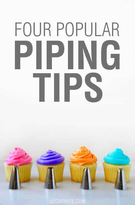Video: Four Popular Piping Tips