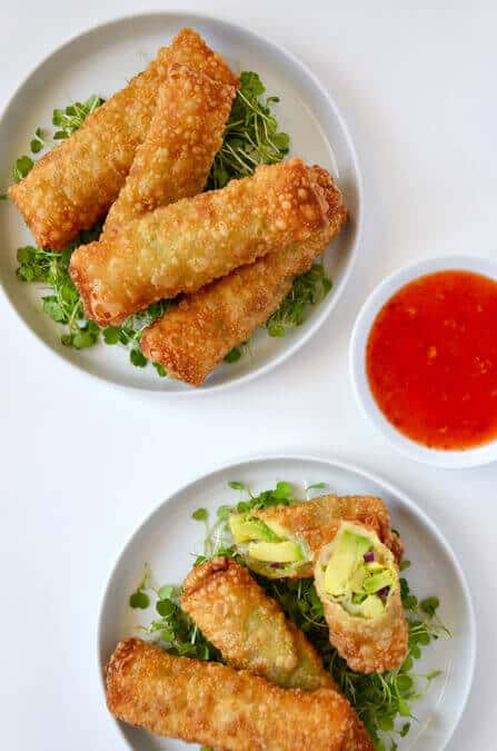 5-Ingredient Avocado Egg Rolls