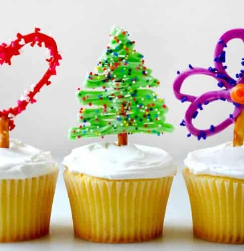 Easy Edible Cupcake Toppers
