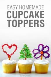 Video: Easy Homemade Cupcake Toppers
