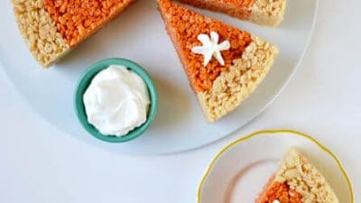 Pumpkin Pie Rice Krispie Treats Recipe