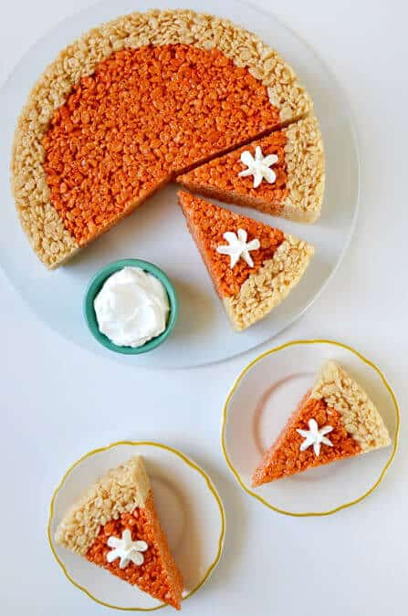 SWEET TREAT: Pumpkin Pie Rice Krispies Treats