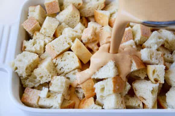 Overnight Pumpkin French Toast Bake Recipe