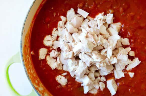 30-Minute Leftover Turkey Chili Recipe