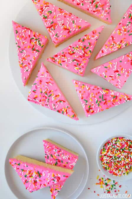 Frosted Soft Sugar Cookie Bars Recipe